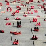 Scarpe che non possono più essere indossate